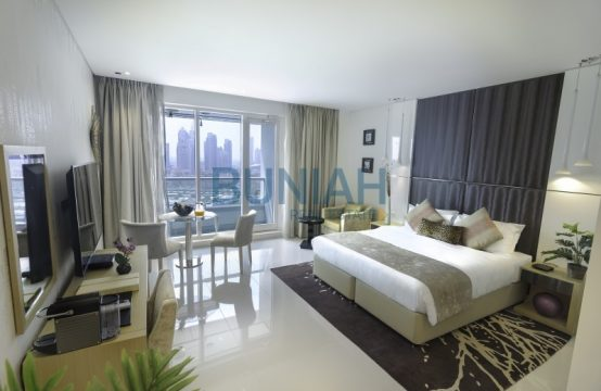 Beautiful fully furnished 5 star serviced studio apartment for rent all bills in