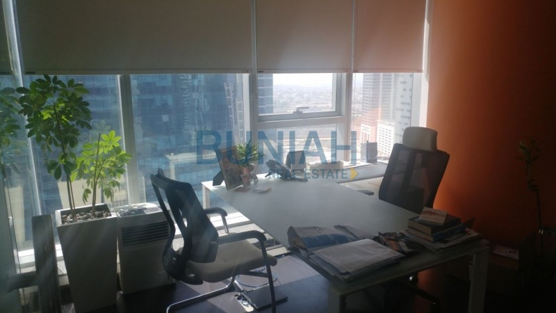 Best Deal!! fully fitted office having canal view available for sale or rent