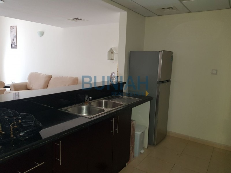 Brand New Spacious Fully furnished one bedroom with balcony, available for rent